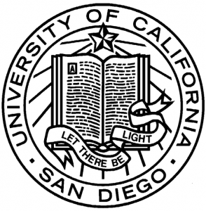 ucsd logo trident UCSD...