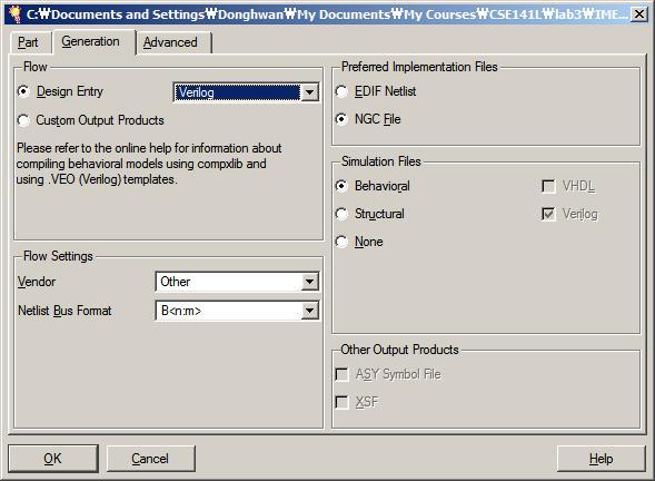 CSE 141L - Fa08 - Tutorial: Generating a Memory Module with